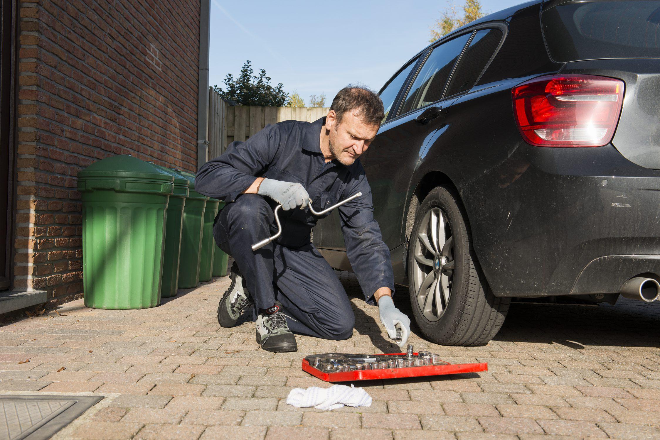 beschermkledij auto onderhoud
