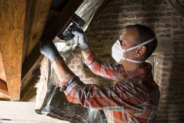 beschermkledij isoleren - stofmasker - masque faciale - dust mask